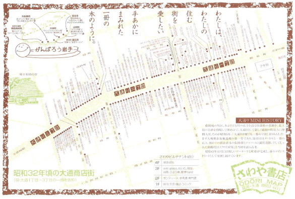 昭和32年の大通商店街